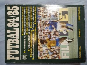 náhled knihy - Futbalová ročenka 1984/85