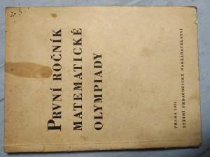 náhled knihy - První ročník matematické olympiady