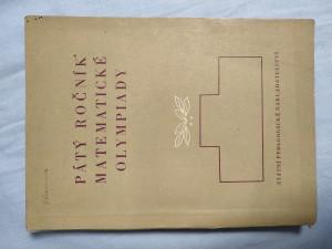 náhled knihy - Pátý ročník matematické olympiady