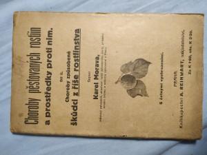 náhled knihy - Choroby pěstovaných rostlin způsobené škůdci z říše rostlinstva a prostředky proti nim