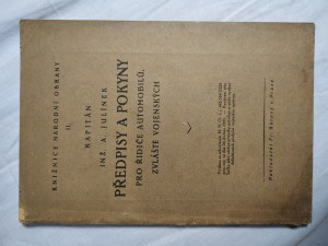 náhled knihy - Předpisy a pokyny pro řidiče vojenských automobilů