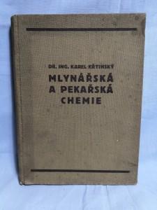 náhled knihy - Mlynářská a pekařská chemie