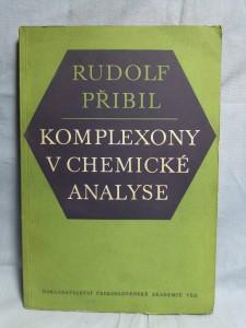 náhled knihy - Komplexony v chemické analyse