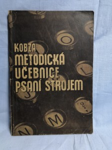 náhled knihy - Metodická učebnice psaní strojem