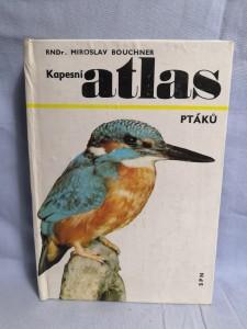 náhled knihy - Kapesní atlas ptáků : pomocná kniha pro ZDŠ stř. všeobec. vzdělávací, zeměd. a pedagog. školy