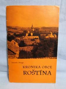 náhled knihy - Kronika obce Roštína