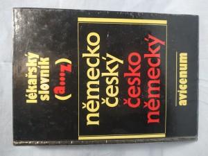 náhled knihy - Lékařský slovník A-Z německo-český a česko-německý