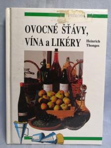 náhled knihy - Ovocné šťávy, vína a likéry
