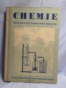 náhled knihy - Chemie pro devátý postupný ročník všeobecně vzdělávacích škol