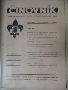 náhled knihy - Činovník : časopis pro československé junácké pracovníky a teorii junácké výchovy