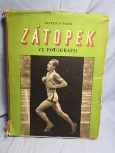 náhled knihy - Emil Zátopek ve fotografii