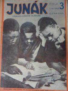 náhled knihy - Junák : Týdeník junácké mládeže (Číslo 3, 1945)