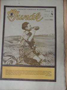 náhled knihy - Junák : Týdeník junácké mládeže (Číslo 4, 1945)