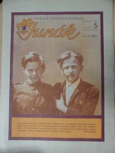 náhled knihy - Junák : Týdeník junácké mládeže (Číslo 5, 1945)