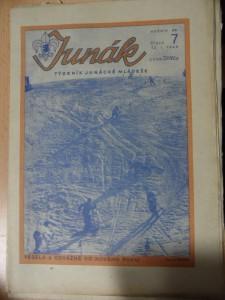náhled knihy - Junák : Týdeník junácké mládeže (Číslo 7, 1945)