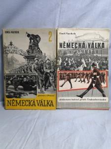 náhled knihy - Německá válka. I. a II. díl