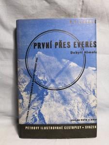 náhled knihy - První přes Everest