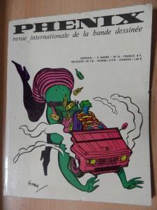 náhled knihy - Phenix revue internationale de la bande dessinée