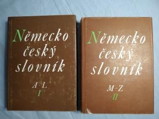 náhled knihy - Německo-český slovník = Deutsch-tschechisches Wörterbuch I. a II.
