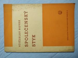 náhled knihy - Společenský styk: Pomocná kniha pro školy měšťanské, střední a učitelské ústavy
