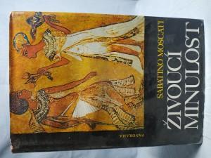 náhled knihy - Živoucí minulost : [aspekty a problémy, charakteristické rysy a ponaučení z každodenního života ve starověkém světě]