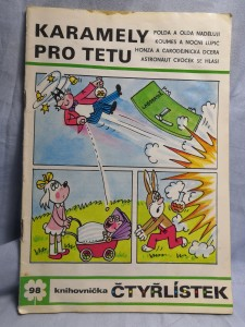 náhled knihy - Čtyřlístek: Karamely pro tetu č. 98