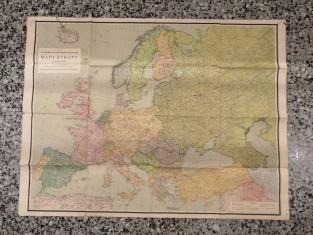 náhled knihy - Neubertova podrobná politická mapa Evropy
