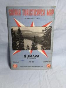 náhled knihy - Sbírka Turistických Map číslo 8 ŠUMAVA A JEJI PODHÚŘÍ