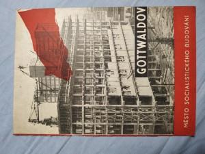 náhled knihy - Gottwaldov - město socialistického budování