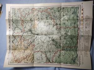 náhled knihy - Mapa politického a školního okresu Mlado-Boleslavského
