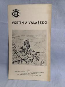 náhled knihy - Vsetín a Vallašsko