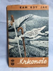 náhled knihy - Na Krkonoše s přehlednou mapou : Průvodce, informace a pokyny pro léto i zimu