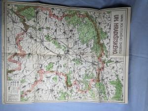 náhled knihy - Mapa Politického okresu Uh. Hradištského