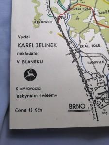 náhled knihy - Moravský Kras Turistická mapa