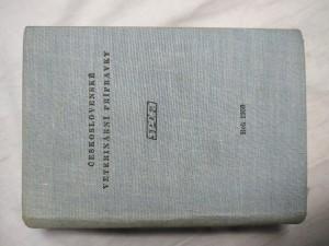 náhled knihy - Československé veterinární přípravky