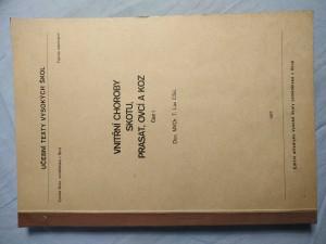 náhled knihy - Vnitřní choroby skotu, prasat, ovcí a koz: Určeno pro posl. veter. fak. Část 1
