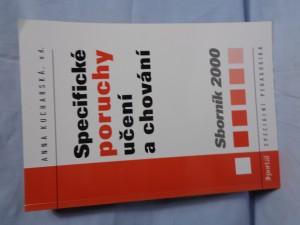 náhled knihy - Specifické poruchy učení a chování