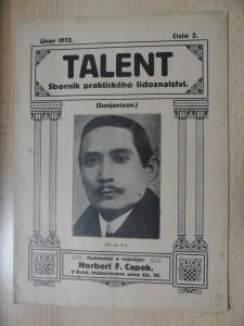 náhled knihy - Talent : Sborník praktického lidoznalství (Číslo 2., únor 1912)