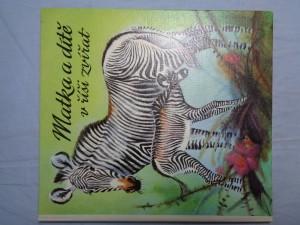náhled knihy - Matka a dítě v říši zvířat