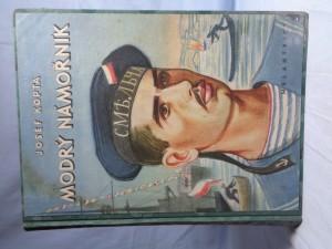 náhled knihy - Modrý námořník : dobrodružná trilogie