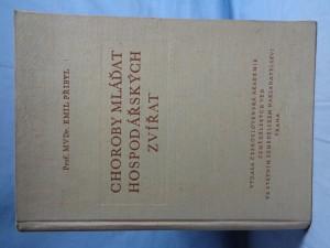 náhled knihy - Choroby mláďat hospodářských zvířat