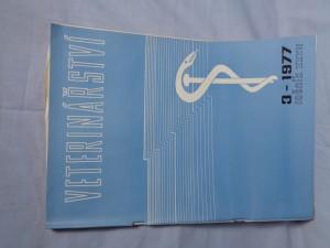 náhled knihy - Veterinářství 3-1977