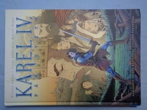 náhled knihy - Karel IV., pán světa: komiksový příběh největšího českého panovníka