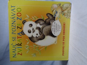 náhled knihy - Nauč se poznávat: zvířata ze ZOO