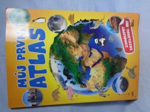 náhled knihy - Můj první atlas : samolepky, rozkládací hry