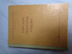náhled knihy - Základy živočišné výroby : učební text pro Družstevní školy práce