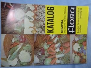 náhled knihy - Katalog zeleninových semen a průmyslového zboží