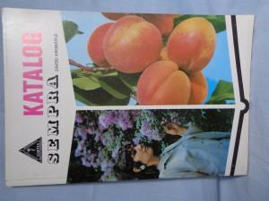 náhled knihy - Ovocné a okrasné dřeviny : Katalog Sempra, závod Flora-Kroměříž