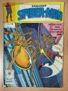 náhled knihy - Záhadný Spider-Man 5 : Tajemný vynález