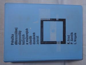 náhled knihy - Príručka diferenciálnej diagnostiky kožných a vnútorných chorôb domácich zvierat